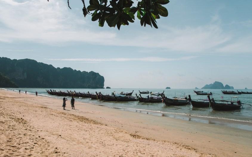 Ao Nang kokemuksia   Ao Nang ranta