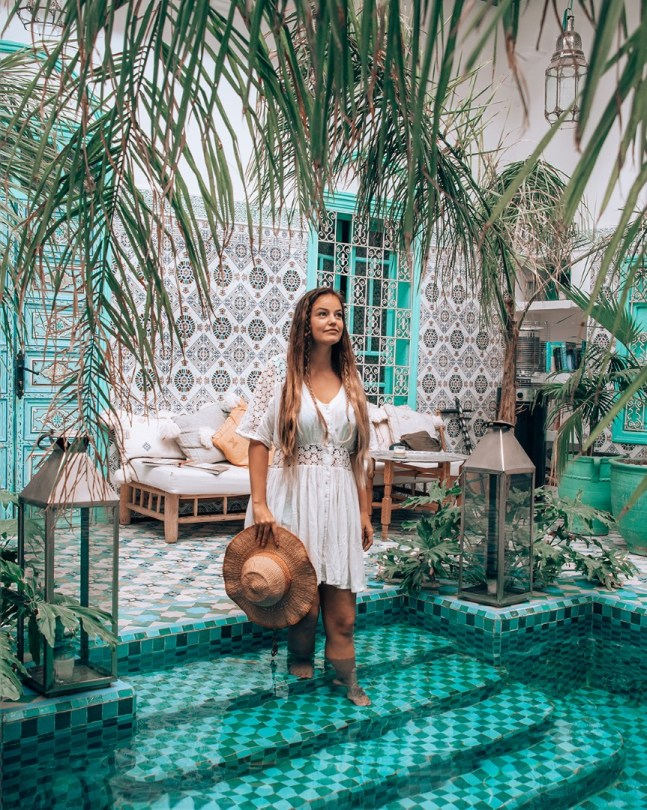 Marokon matka   riad-majoitus