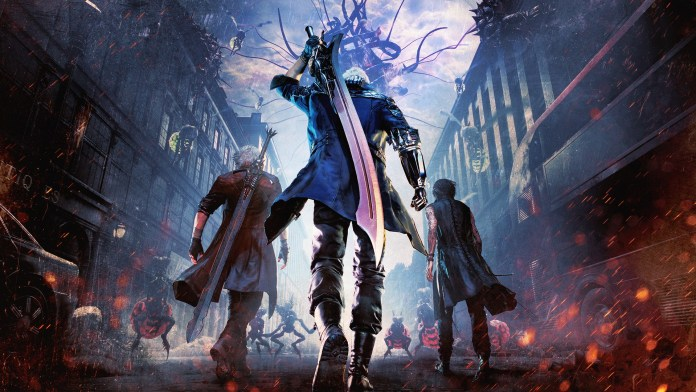 Game: Devil may cry 5 - image  on https://muvison.com