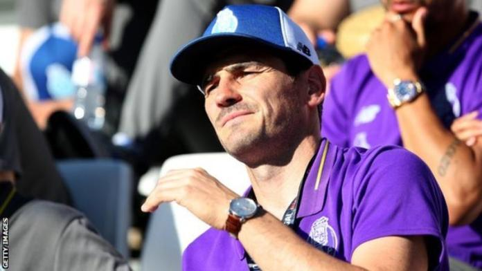 Iker Casillas given coaching role at Porto two months after having heart attack - image  on https://muvison.com