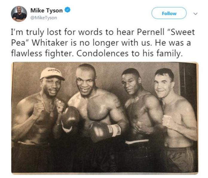 Pernell Whitaker: Former world champion boxer nicknamed 'Sweet Pea' dies in accident 2