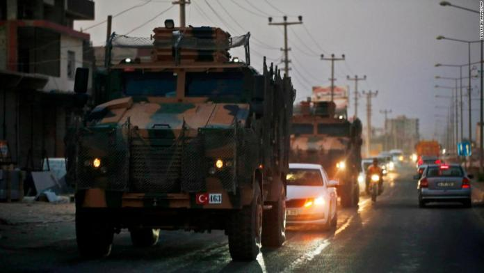Russia says Kurds complete withdrawal from Turkish border 1