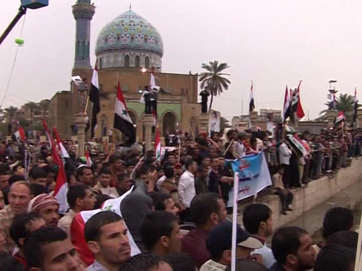 Iraq: protests to demand US troops to leave the country 1
