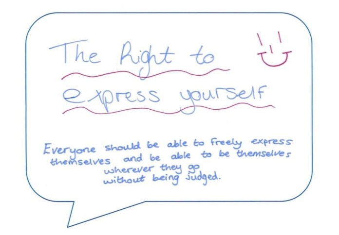 Right To Express Ourselves