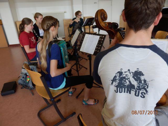 Oberstufenorchester – klein, aber fein