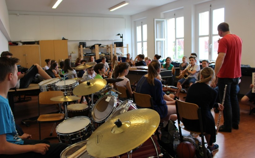 Nachwuchskomponisten werden aktiv – Freie Instrumentalimprovisation