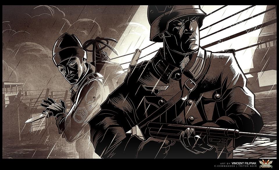 V-Commandos: Meucheln bei Nacht und Nebel