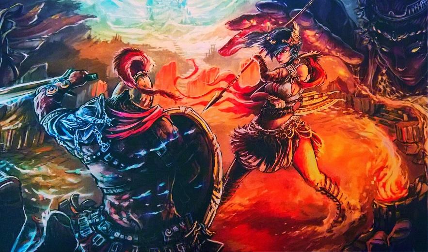 Odysseus, Herakles, Penelope und Co. im Kampf um den Olymp...