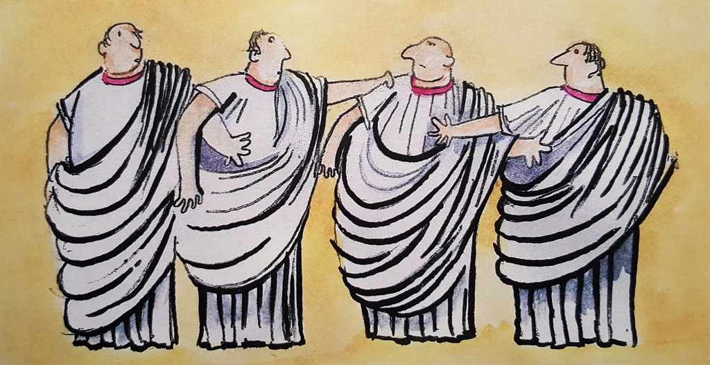 Senators - Grab `em by the Toga!