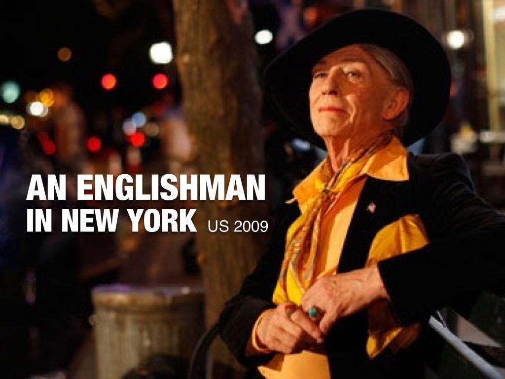 An Englishman In New York Us Muwio S Diary