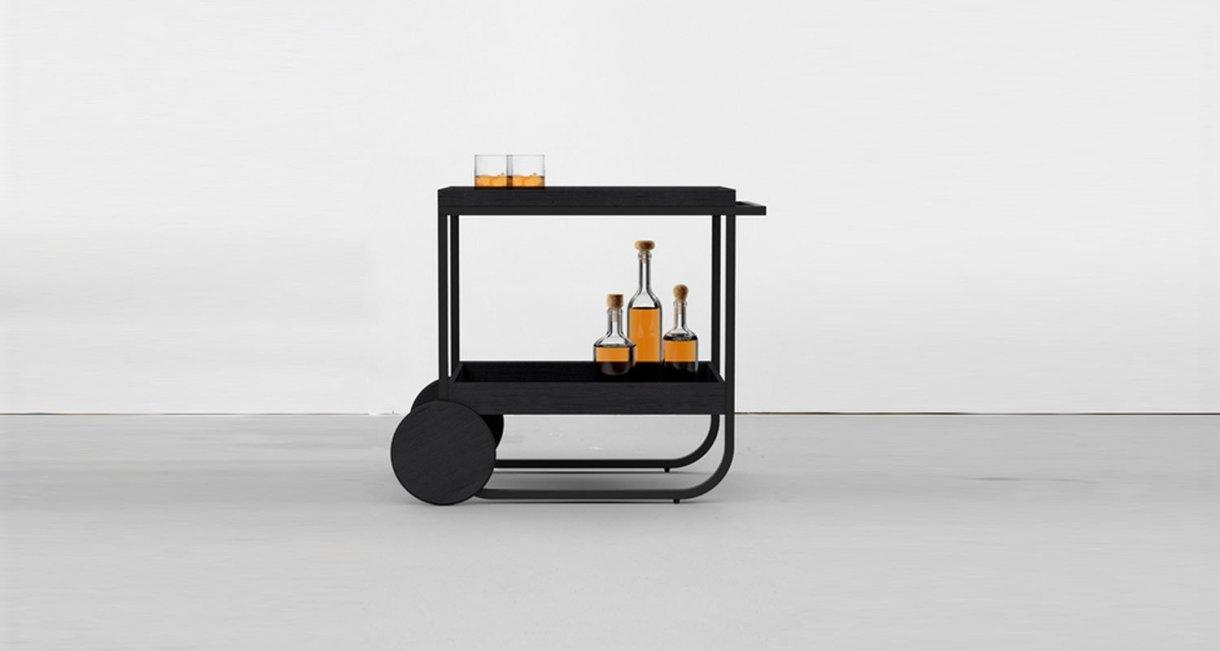 Servant-bar-cart-wood-black