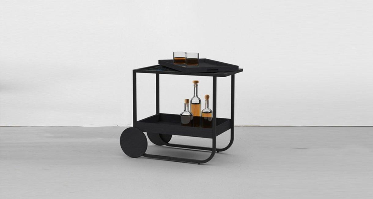 Servant-bar-cart-wood-drink