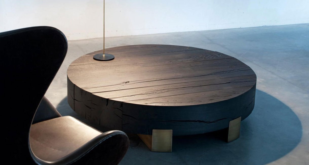 Beam-Limited-Round-Coffee-Table-black-french-oak-interior
