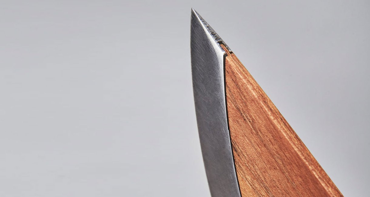 SKID-wood-steel-knife-Chef-Knife-tip-5