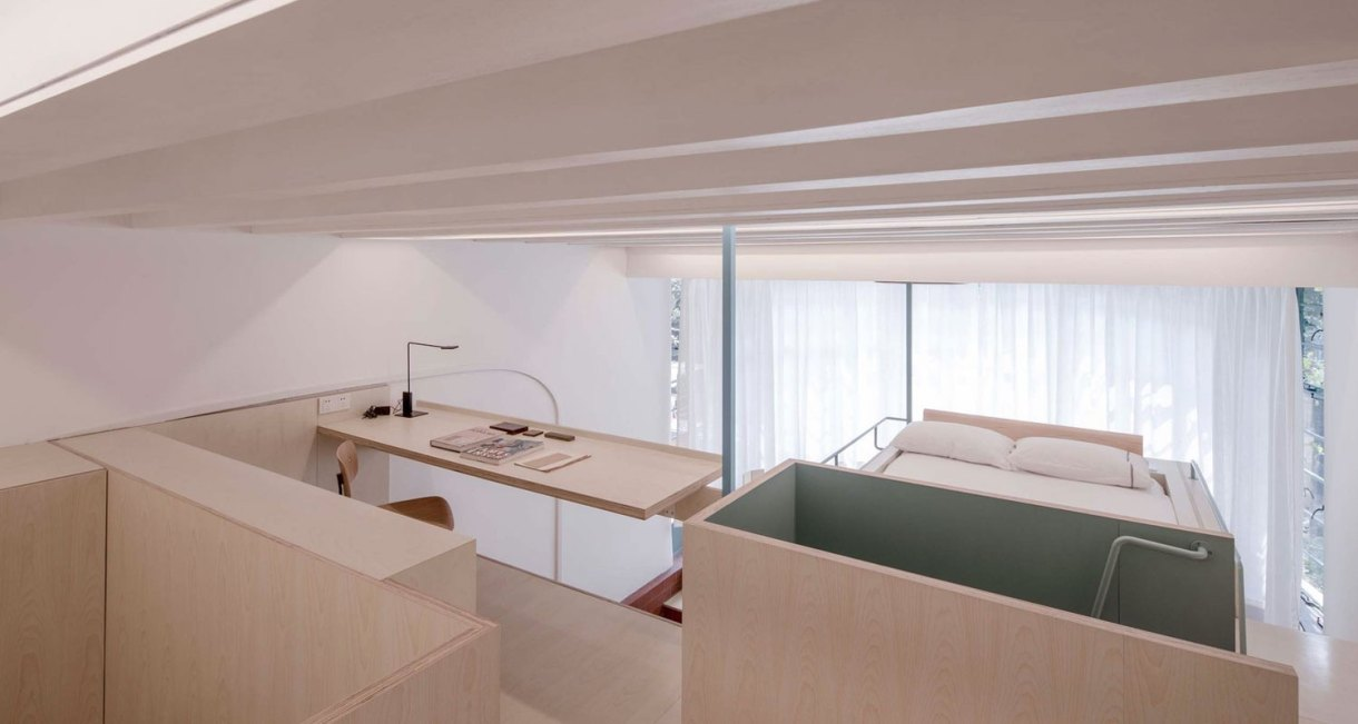 U-shape-room-compact-living-space-Atelier-tao+c-2