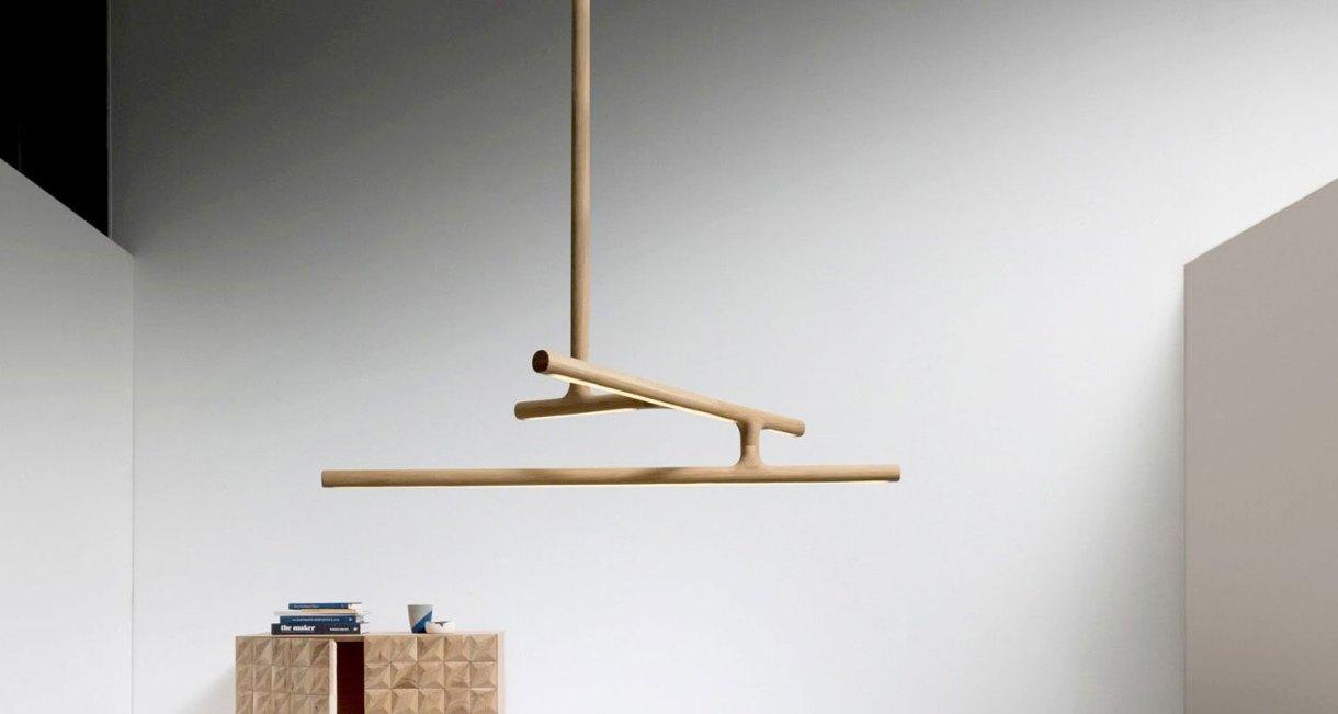 Modern Wood decor light