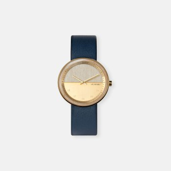 wooden-watch-Maple-wood-stainless-steel-gold-finish-8
