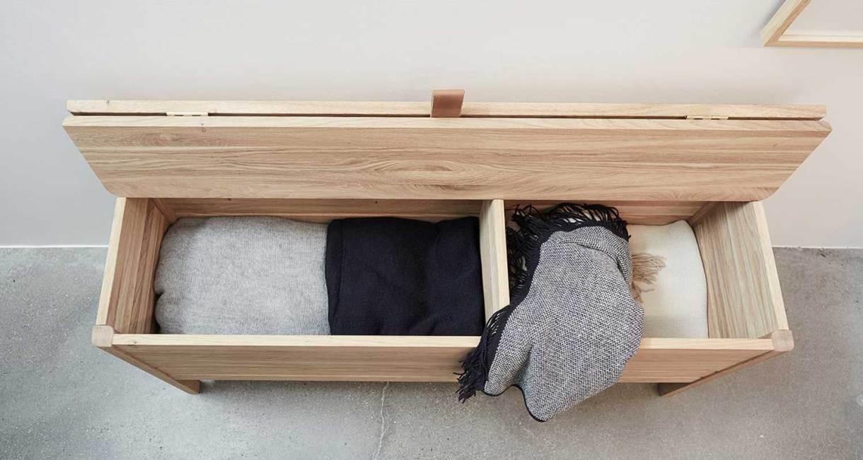 Storage-Bench-oak-wood