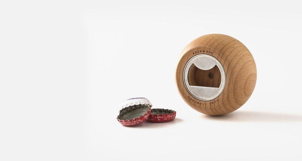 Areaware-Sphere-Bottle-Opener-made-of-wood-2