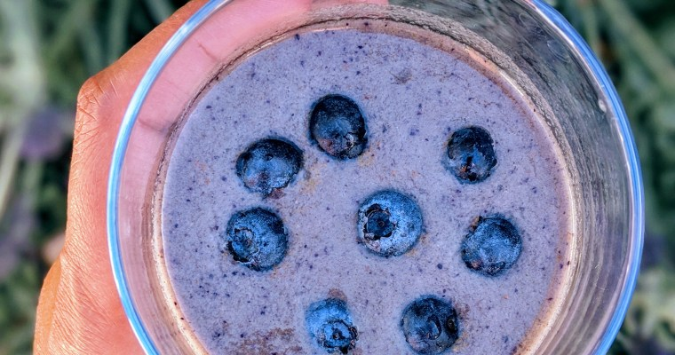Blueberry Surprise Smoothie