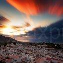 Michas Pueblo bei Sonnenaufgang / Andalusien