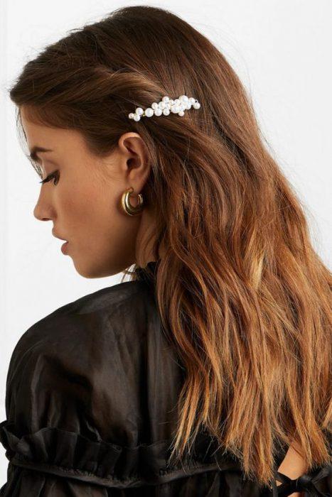 hebillas para el pelo de moda