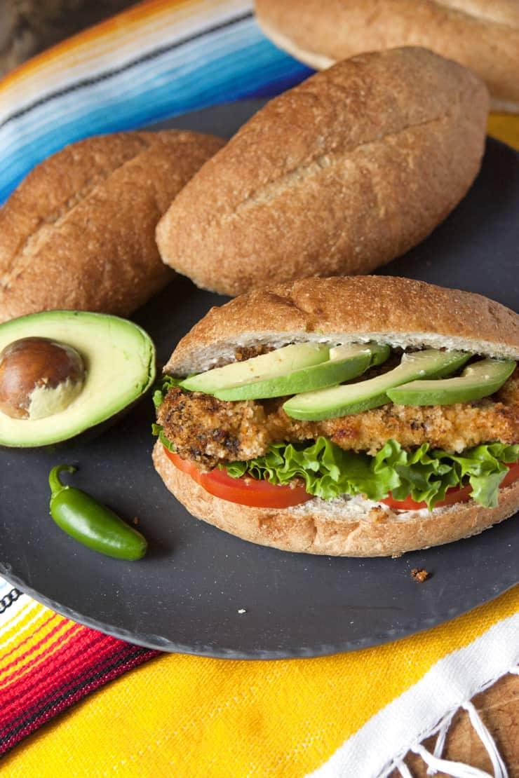 Chicken Milanesa Tortas  Muy Bueno Cookbook