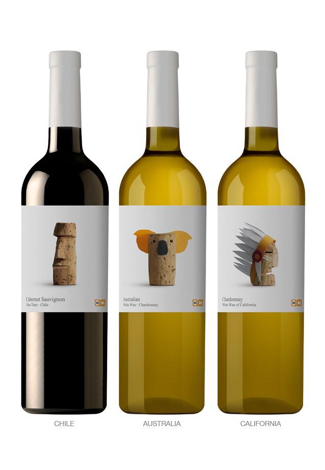 Unas etiquetas de vino geniales  muymolon