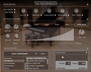 Hammersmith Pro Options page