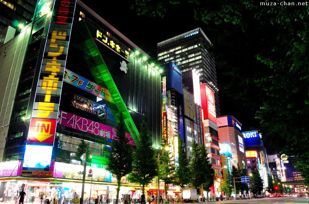 Tokyo Anime Wallpaper Akihabara At Night