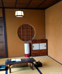 Traditional Japanese House Marumado Window