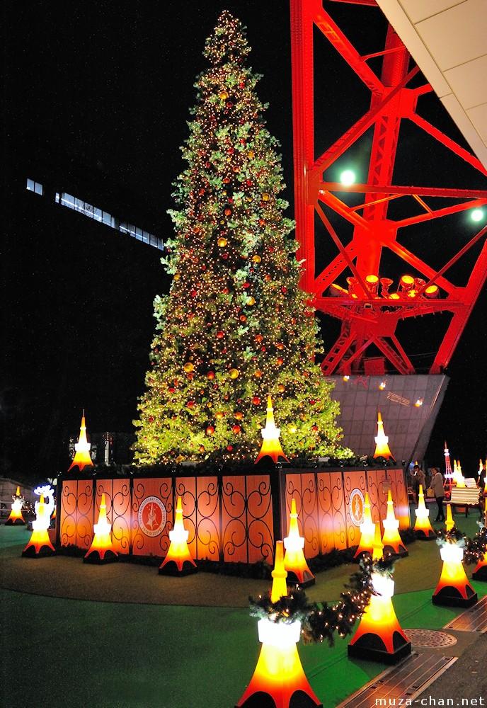 Tokyo Tower Christmas Tree For A Romantic Christmas Night