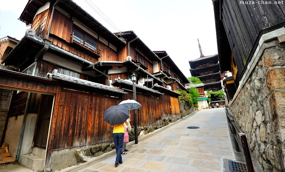 Simply beautiful Japanese scenes traditional street in