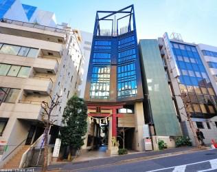 building shrine architecture modern japanese tokyo airex japan chiyoda chan ku