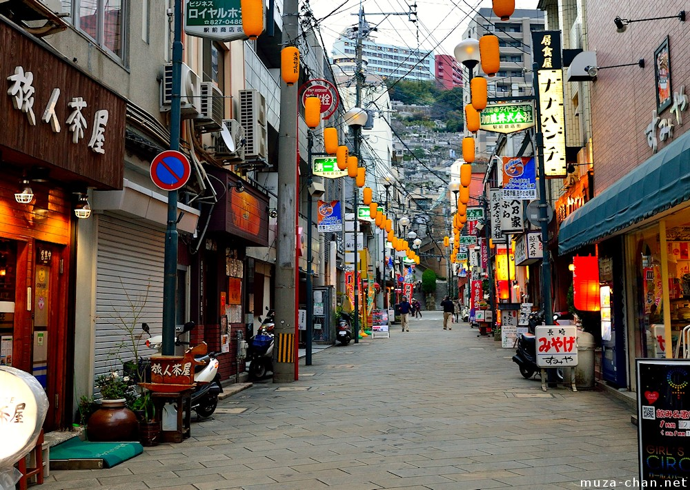 Simply Beautiful Japanese Scenes Nagasaki Street
