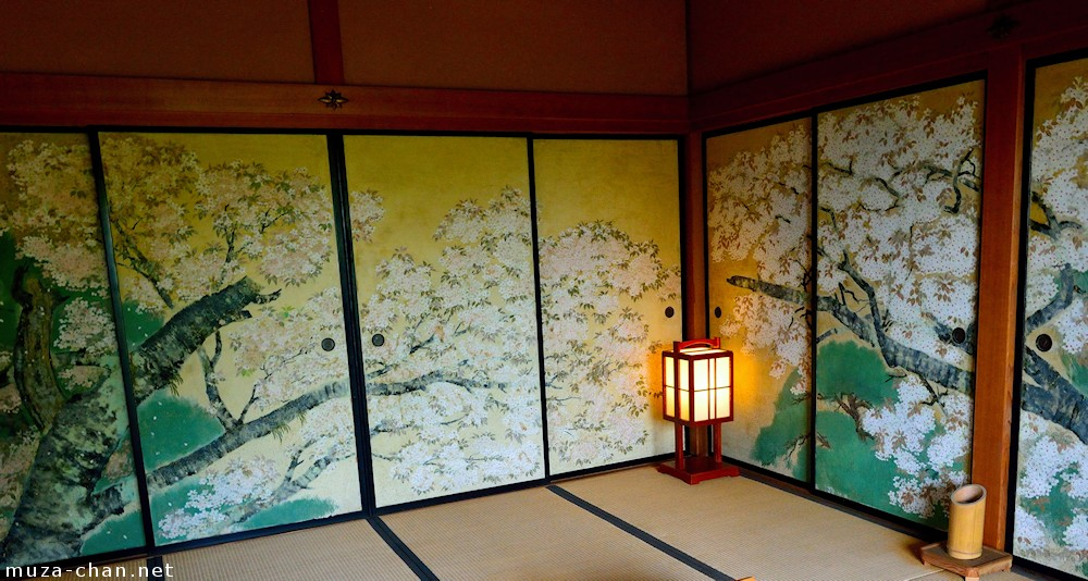 Japanese traditional house Kobuntei sakura room