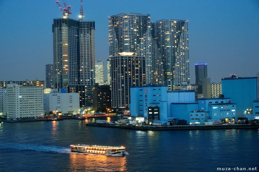 Tokyo Skylines Night In Tokyo Bay