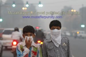 muzaffarpur polluted city