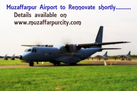 Airport from Muzafafrpur