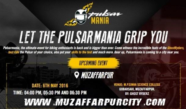 Pulsar Mania Muzaffarpur