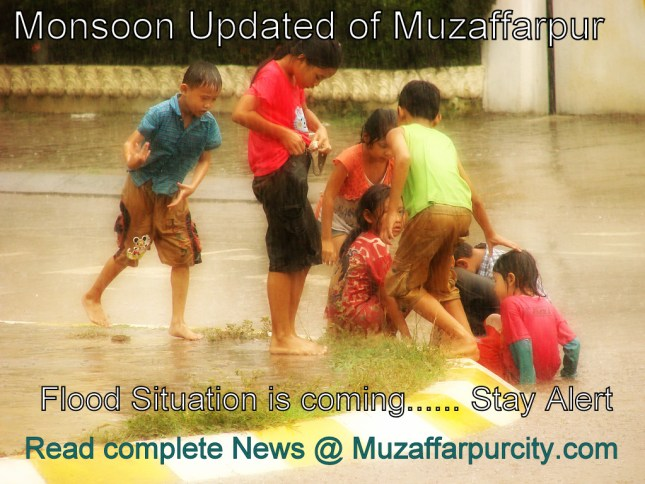 monsoon in muzaffarpur