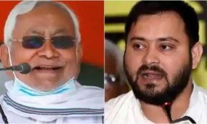 Nitish will take oath of CM post after some time, RJD did the bicot of the ceremony