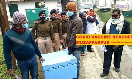 covid vaccine muzaffarpur