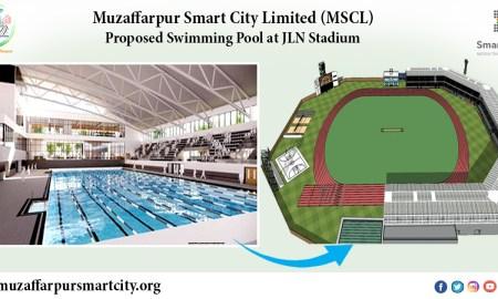 Swimming Pool at Nehru Stadium Muzaffarpur