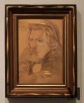 """Stanisław Wyspiański """"Portret Stanisława Sierosławskiego""""; fot. Aleksandra"""