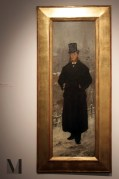 """Witold Pruszkowski """"Portret Kazimierza Bartoszewicza""""; fot. Aleksandra"""