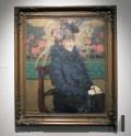 """Józef Mehoffer """"Portret żony artysty""""; fot. Aleksandra"""