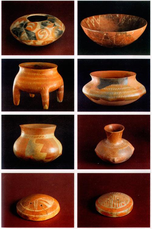 Сликана керамика користена во религиозни церемонии од локалитетите Велушка Тумба и Тумба, кај с. Породин