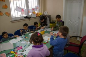 Educational and creative workshop at the Centre for Early Childhood Development SUMNAL Bitola – 26. November 2015