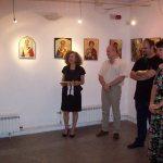 Изложба на икони – нов иконопис на Византиско сликарство – Златко и Соња Лечковски